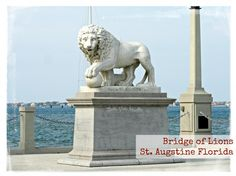 Bridge of Lions in Things to do and see in St. Augustine Florida