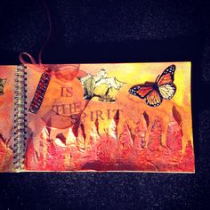 #theresalamb My Art Journal - Not Me (side 2)