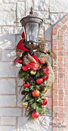 30+ Outdoor Christmas Decoration Ideas                                                                                                                                                                                 More