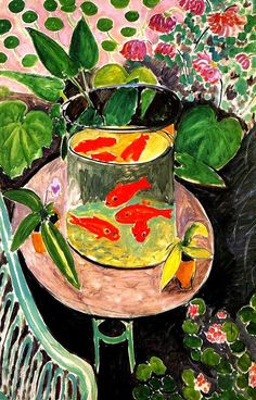 poissons rouges , Matisse 1911