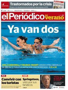 Portada de EL PERIÓDICO DEL VERANO del 22-07-2013
