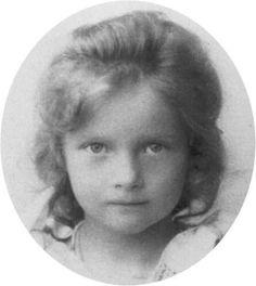 Tatiana around age 3