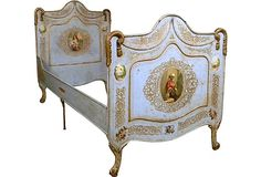 Antique English Bed Frame, Twin on OneKingsLane.com