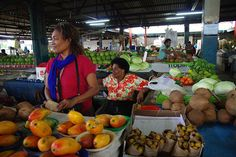 The Suva Market in Fiji :) looks like Mango season!!!