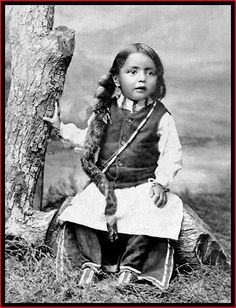 A little girl, 1899 A Sioux boy, ca. 1890s A young Cheyenne boy, 1895 American Indian girl, possibly Dakota Sioux, 1899 ...
