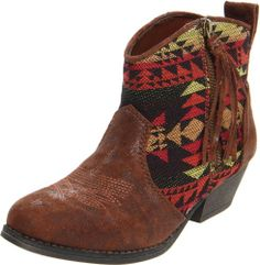 Amazon.com: Big Buddha Women's Wendy Boot,Brown Fabric,6 M US: Shoes