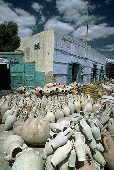 Pottery Store in Kairouan,Tunisie