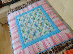 Одеяло детское 120х120   Стежка ручная