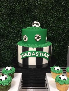 Birthday Party Ideas For Boys Soccer 19 Ideas Soccer Birthday Cakes, 1st Birthday Boy Themes, Football Birthday, Birthday Fun, Soccer Cakes, Soccer Baby Showers, Boy Baby Shower Themes, Soccer Theme, Soccer Party