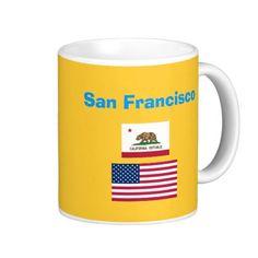 San Francisco* Airport SFO Code Mug