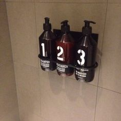 Ace Hotel - London, United Kingdom. Toiletries