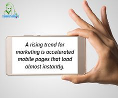#fact A rising trend for #marketing is accelerated mobile pages that load almost instantly.  #digital #NYC #website #design #business
