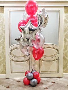 Balloon Gift, Balloon Garland, Balloon Decorations, Balloon Arrangements, Gift Bouquet, Helium Balloons, Balloon Bouquet, Sculptures, Birthdays