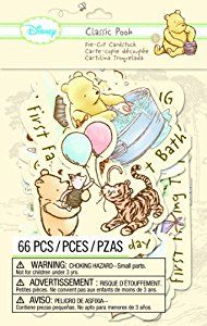Amazon.com: EK Success Disney Die-Cut Cardstock, Classic Pooh Firsts: Arts, Crafts & Sewing