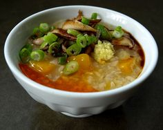 Dog Hill Kitchen: Butternut Squash and Brown Rice Porridge (congee-style)