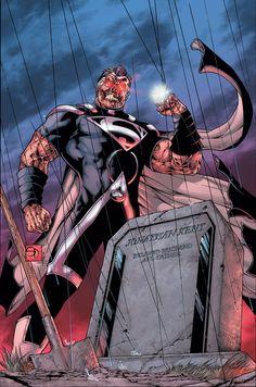 Black Lantern Earth-Two Superman Superman 1, Superman Man Of Steel, Batman, Hq Marvel, Marvel Comics, Comic Books Art, Comic Art, Robinson, Hq Dc