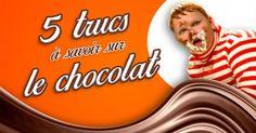 [VIDEO] Top 5 des trucs à savoir sur le chocolat (et on en saura jamais assez)
