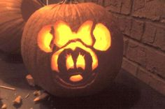 minnie pumpkin