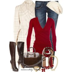"""""""Burberry & Bows"""" by autumnsbaby on Polyvore"""