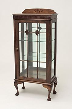 Small Chippendale Display Cabinet *** Click image to review more details. (Amazon affiliate link)