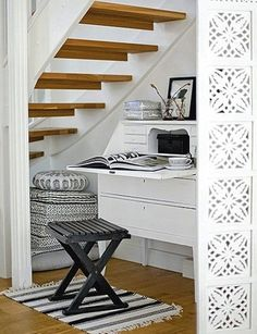 Office Under the Stairs?