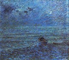 'Mare di Genova' (Sea of Genoa), 1891 - Plinio Nomellini (1866-1943)