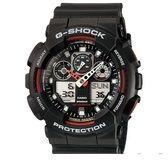 Casio G-SHOCK Standard Analog-Digital Watch GA-100-1A4 - Black
