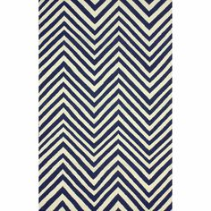 With the turquoise-ish walls Rugs USA Savanna Chevron Flatwoven Navy Blue Rug Navy Rug, Navy Blue Area Rug, Blue Area Rugs, Wool Area Rugs, Wool Rug, Chevron Area Rugs, Blue Chevron, Rugs Usa, Contemporary Rugs