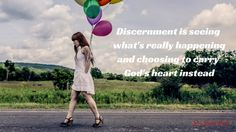 Self-awareness plays a role in discernment