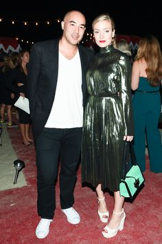 Art Basel Miami Beach's Best Dressed - Max Osterweis and Kate Foley-Wmag