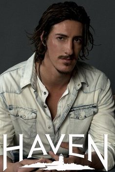 "Eric Balfour as ""Duke Crocker"" in the hit Canadian SyFI TV shows Haven :)"