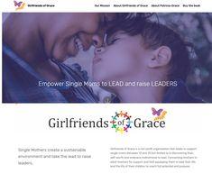Fabulous website for Girlfriends of Grace. Temp. website address www.gograce.jaccirdesign.co.za Girlfriends, Web Design, Website, Books, Organization, Design Web, Libros, Book, Book Illustrations