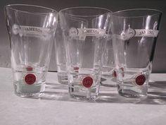 Vintage Jameson Irish Whiskey Glass Set of Six by TazamarazVintage