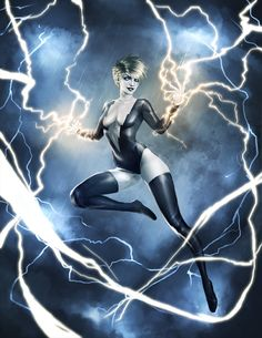 Leslie Willis (Livewire) Species: Empowered Human (Metropolis, USA) Electrokinesis, electro-magnetism generation (Debut: 1997) Currently Portrayed by: Brit Morgan (Supergirl)