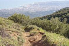 Santa Barbara Hikes - Camino Cielo to Montecito Peak