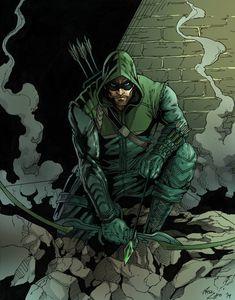The Arrow By Phil Cho Marvel Dc Comics Vs