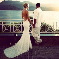 wedding dresses, wedding dresses 2014 This is exactly the view I want for my wedding to be & that wedding dress!