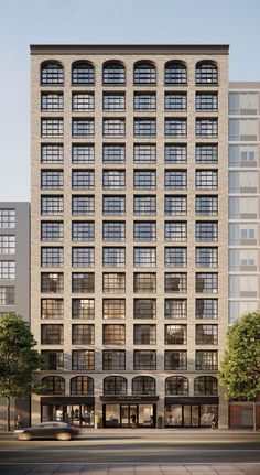 This Danish Family Is Taking On the World Brick by Brick building 211 Schermerhorn, Brooklyn. Building Front, Building Facade, Building Exterior, Building Design, New Classical Architecture, Brick Architecture, Residential Architecture, Brick Facade, Facade Design