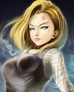 DB/Android 18 02 by Kanchiyo on DeviantArt Dragon Ball Z, Dragon Z, Naruhina, Akira, Krillin And 18, Z Warriors, Manga Anime, Anime Art, Android 18