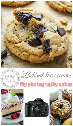 Behind the Scenes: My Simple Food Photography Setup | Baker By Nature | Bloglovin'