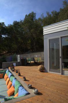 Sunset Idea House featuring Humboldt Redwood.
