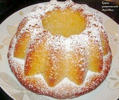 Lemon cake with olive oil Lemon Recipes, Sweets Recipes, Greek Recipes, Cake Recipes, Greek Sweets, Greek Desserts, Cake Cookies, Cupcake Cakes, Bundt Cakes