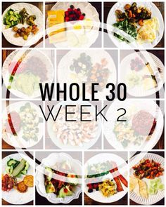 January Whole 30 - Week 2 Meal Plan - Glitter On A Dime Whole 30 Week 2 Meals, Tips and Favorite Products 30 recipes Whole 30 Menu, Whole 30 Meal Plan, Whole 30 Diet, Peach Syrup, Post Workout Food, Chicken Meal Prep, Meal Prep Bowls, Whole 30 Recipes, Clean Eating Snacks