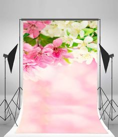 Rustic Spring Backdrops for Photography 7x5ft Wonderful Sunset Flowers Garden Photo Background Nature Scenes for Wedding Custom Floral Baby Shower Props