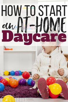 As a SAHM with 2 kids, I've always wondered about the logistics and reality of how to start an at-home daycare. Afford to do it? Is it worth it? This post answered ALL my questions. I will definitely be using these home daycare resources an Daycare Setup, Kids Daycare, Daycare Design, Home Daycare Rooms, Infant Daycare Ideas, Daycare Nursery, Daycare Spaces, Daycare Organization, Office Spaces