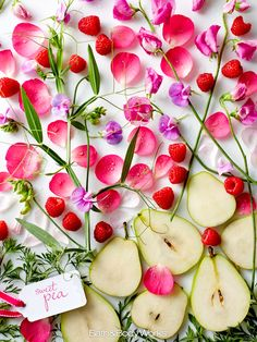 An award-winning mix of juicy raspberries & pear kissed by soft petals. #SweetPea