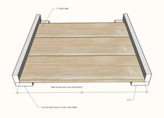 Easy Build DIY Planter Box | Ana White Planter Box Plans, Diy Planter Box, Diy Planters, Tiered Planter, Diy Pallet Projects, Woodworking Projects Diy, Outdoor Furniture Plans, Patio Plans, Kids Picnic Table