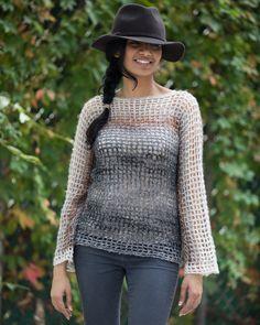 Crochet Kit - Night Lights Sweater