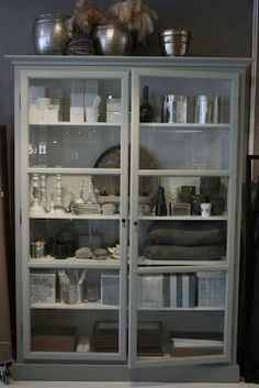 Grey - Jewellery Jewellery Shop Solakrossen Norway - Thansk for sharing Silje -* & Glass Display Cabinet | The White Company u2022 | Pinterest | Glass ...