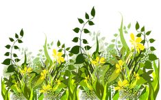 Grass Decoration Clipart Image
